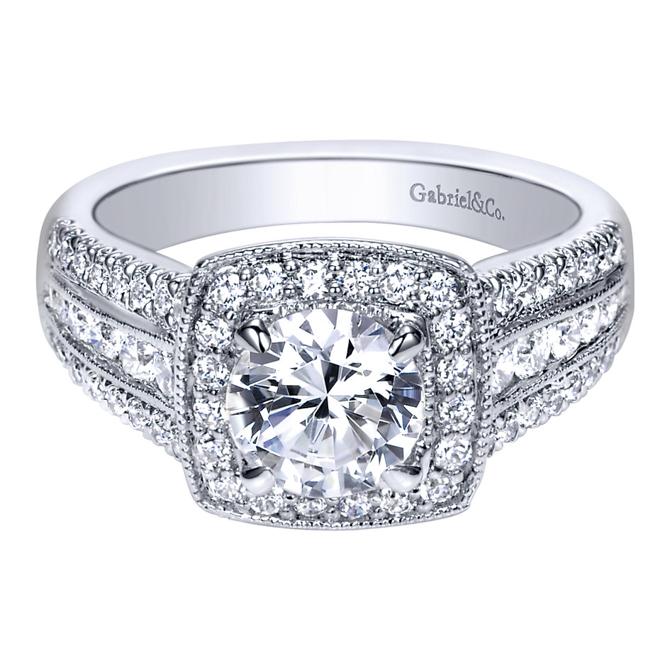 Gabriel Amp Co Wedding Engagement Rings Guida Jewelers